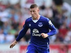 Ross Barkley of Everton in action during the Barclays Premier League match between Swansea City and Everton on September 19, 2015 in Swansea, United Kingdom.