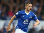 Tom Cleverley of Everton during the Barclays Premier League match between Everton and Manchester City at Goodison Park on August 23, 2015