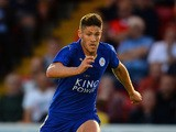 Andrej Kramaric of Leicester City during the Pre Season Friendlly match between Lincoln City and Leicester City at Sincil Bank Stadium on July 21, 2015