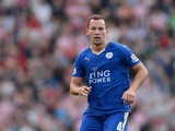 Danny Drinkwater of Leicester City during the Barclays Premier League match between Stoke City and Leicester City on September 19, 2015