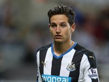 Florian Thauvin of Newcastle United in action during the Capital One Cup Second Round between Newcastle United and Northampton Town at St James' Park on August 25, 2015