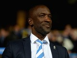 Huddersfield Town manager Chris Powell during the Sky Bet Championship match between Huddersfield Town and Nottingham Forest at John Smiths Stadium on September 24, 2015