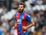 Joe Ledley of Crystal Palace in action during a Pre Season Friendly between Fulham and Crystal Palace at Craven Cottage on August 1, 2015