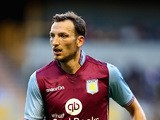 Libor Kozak of Aston Villa looks on during the pre season friendly between Wolverhampton Wanderers and Aston Villa at Molineux on July 28, 2015