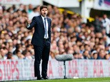 Mauricio Pochettino Manager of Tottenham Hotspur gestures during the Barclays Premier League match between Tottenham Hotspur and Manchester City at White Hart Lane on September 26, 2015