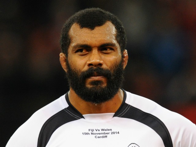 Fiji player Dominiko Waqaniburotu pictured before the International match between Wales and Fiji at Millennium Stadium on November 15, 2014 in Cardiff, Wales.
