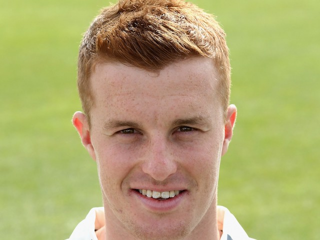 Tom Milnes of Warwickshire County Cricket Club poses for a portrait at the photocall held at Edgbaston on April 9, 2015 in Birmingham, England.