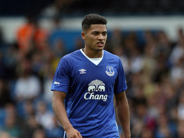 Tyias Browning of Everton in action during the Pre Season Friendly match between Leeds United and Everton at Elland Road on August 1, 2015 in Leeds, England.