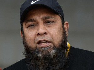 Former Pakistani cricket captain and team batting coach Inzamam-ul Haq answers a question during a media briefing in Lahore on December 15, 2012