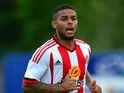 Liam Bridcutt of Sunderland in action during a pre season friendly between Darlington and Sunderland at Heritage Park on July 9, 2015 in Bishop Auckland, England.