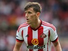Billy Jones of Sunderland during the Barclays Premier League match between Sunderland and Tottenham Hotspur at the Stadium of Light on September 13, 2015 in Sunderland, United Kingdom.