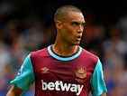 Winston Reid of West Ham United in action during the Barclays Premier League match between West Ham United and Leicester City at the Boleyn Ground on August 15, 2015 in London, United Kingdom.