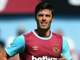 James Tomkins of West Ham United during the Betway Cup match between West Ham Utd and SV Werder Bremen at Boleyn Ground on August 2, 2015 in London, England.
