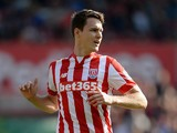 Philipp Wollscheid of Stoke City during the Barclays Premier League match between Stoke City and Bournemouth on September 26, 2015 in Stoke on Trent, United Kingdom.