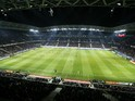 General view during the French L1 football match Nice (OGCN) vs Paris Saint-Germain (PSG) on March 28, 2014 at the Allianz Riviera stadium in Nice, southeastern France.