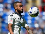 Fulham full back Ashley 'Jazz' Richards in action during the Sky Bet Championship match between Cardiff City and Fulham at Cardiff City Stadium on August 8, 2015 in Cardiff, Wales.