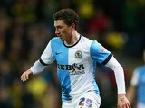 Corry Evans of Blackburn Rovers in action during the Sky Bet Championship match between Blackburn Rovers and Norwich City at Ewood Park on February 24, 2015