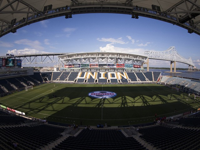 A general view of PPL Park prior to the international friendly match between AFC Bournemouth and the Philadelphia Union on July 14, 2015