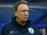 QPR Interim Head Coach Neil Warnock looks on before kick off during the Sky Bet Championship match between Queens Park Rangers and Preston North End at Loftus Road on November 7, 2015 in London, United Kingdom.