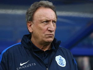 QPR Interim Head Coach Neil Warnock looks on before kick off during the Sky Bet Championship match between Queens Park Rangers and Preston North End at Loftus Road on November 7, 2015
