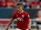 Joe Bryan of Bristol City during the Sky Bet Championship match between Bristol City and Burnley at Ashton Gate on August 29, 2015