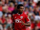 Korey Smith of Bristol City during the Sky Bet Championship match between Bristol City and Burnley at Ashton Gate on August 29, 2015