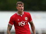 Aden Flint of Bristol City during the Pre Season Friendly match between Bath City and Bristol City at Twerton Park on July 10, 2015