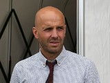 Exeter City manager Paul Tisdale looks on prior to the Sky Bet League Two match between Northampton Town and Exeter City at Sixfields Stadium on August 15, 2015