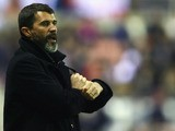 Roy Keane, manager of Sunderland looks on during the Barclays Premier League match between Sunderland and Bolton Wanderers at The Stadium of Light on November 29, 2008 in Sunderland, England.