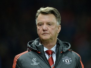 Manchester United's Dutch manager Louis van Gaal is pictured during their UEFA Champions League Group B football match between Manchester United and PSV Eindhoven at the Old Trafford Stadium in Manchester, north west England on November 25, 2015