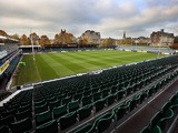 A general view of the Recreation Ground before the Aviva Premiership match between Bath Rugby and Harlequins at the Recreation Ground on October 31, 2015