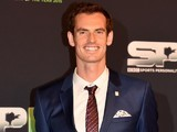 Andy Murray arrives for the Sports Personality of the Year awards in Belfast on December 20, 2015