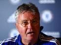 Chelsea interim manager Guus Hiddink on December 23, 2015