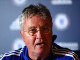 Chelsea interim manager Guus Hiddink on December 23, 2015