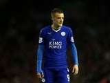 Leicester City frontman and all-round great guy Jamie Vardy in action against Liverpool on December 26, 2015