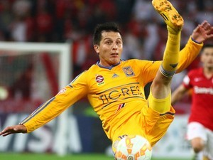 Jurgen Damm in action for Tigres in July 2015