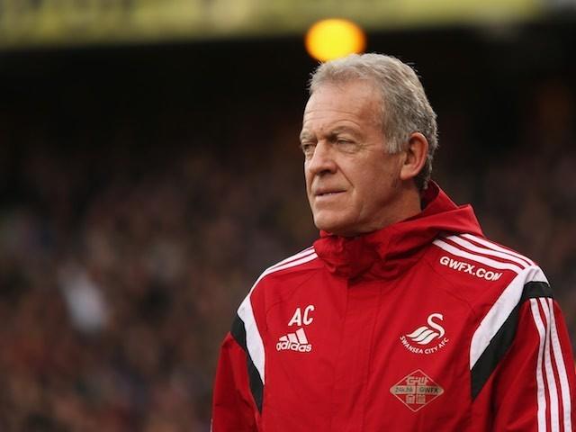 Swansea caretaker manager Alan Curtis on December 28, 2015
