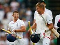 James Taylor and Joe Root walk off on day three of the third Test between South Africa and England on January 16, 2016