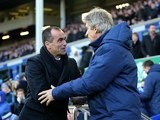 Roberto Martinez and Manuel Pellegrini pictured on January 10, 2015
