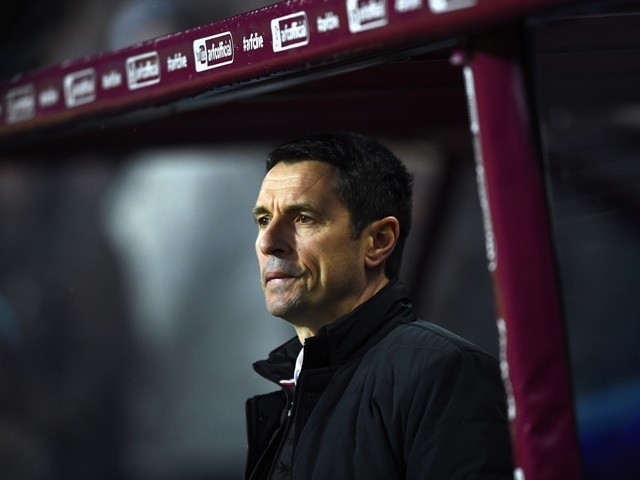 Remi Garde looks on prior to the Premier League match between Aston Villa and Crystal Palace at Villa Park on January 12, 2016