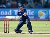 Alex Hales in action with the bat during the second ODI between South Africa and England on February 6, 2016