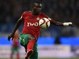 Oumar Niasse in action for Lokomotiv Moscow on November 8, 2015