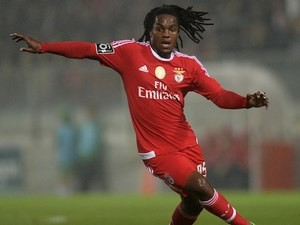 Renato Sanches in action for Benfica on January 31, 2016