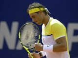 Rafael Nadal in action at the Argentina Open on February 13, 2016
