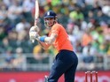Alex Hales in action during the second T20 between South Africa and England on February 20, 2016