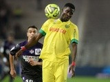 Papy Djilibodji in action for Nantes on December 2, 2014