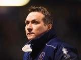 Micky Mellon looks on prior to the FA Cup fifth-round match between Shrewsbury Town and Manchester United on February 22, 2016