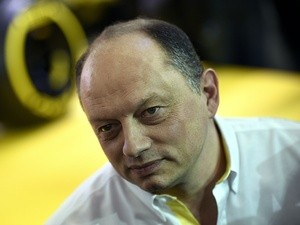 Renault team manager Frederic Vasseur pictured on February 3, 2016