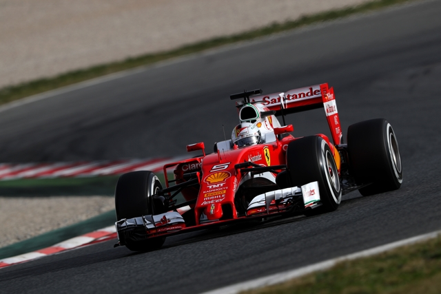 Ferrari F1 Feb 2016 test day 1