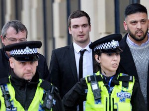 Adam Johnson pictured on March 1, 2016
